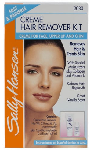 Sally Hansen Creme Hair Remover for Face