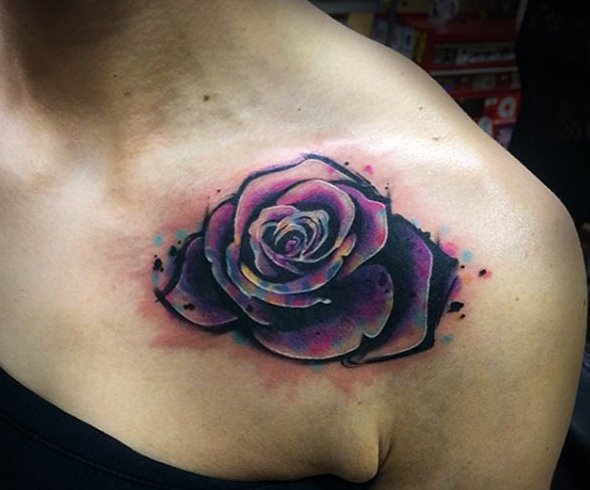 Shoulder tattoos for girls