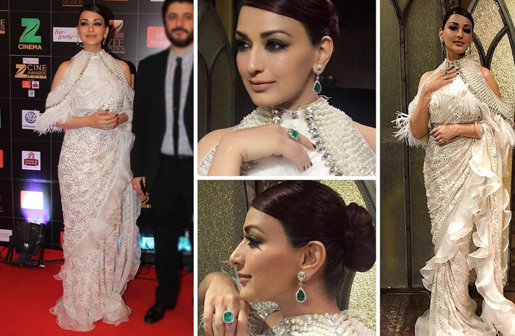 Sonali Bendre at Zee Cine Awards