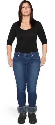 Tapered jeans fashion For Women Over 50