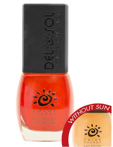 Temperature Color Changing Gel Nail Polish