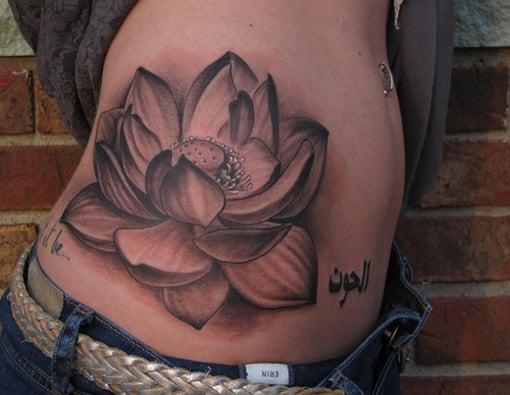 The Black Lotus Tattoo