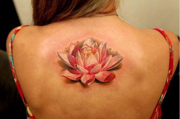 The Lotus Flower Tattoo