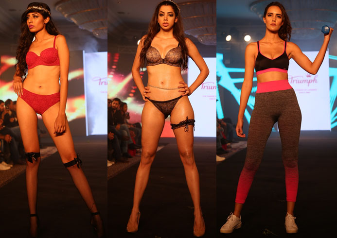 Triumph show at IIFW Show