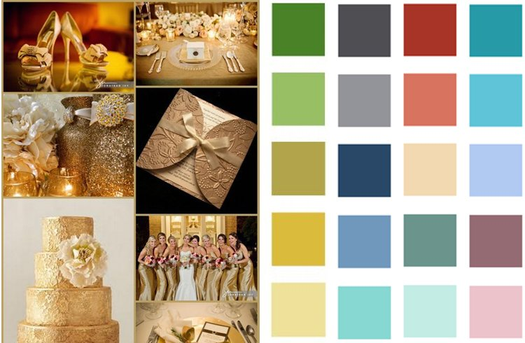 Wedding colors for women