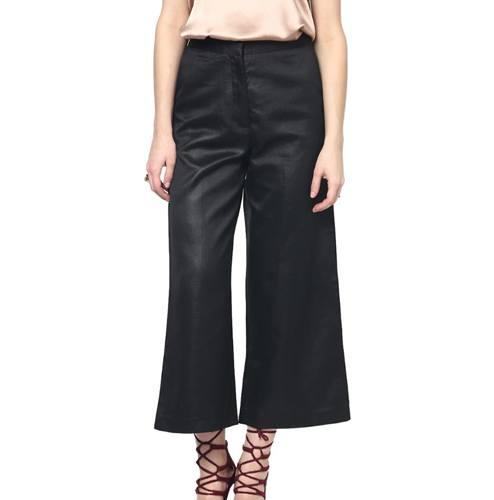 Yepme Black Casual Pants Slim