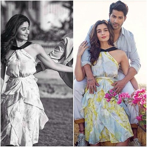 Alia Bhatt and Varun Dhawan on Filmfare