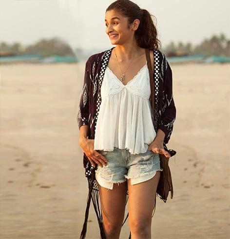 Alia Bhatt Shorts