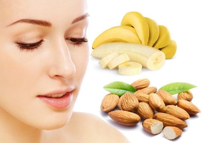 Almond Banana face mask