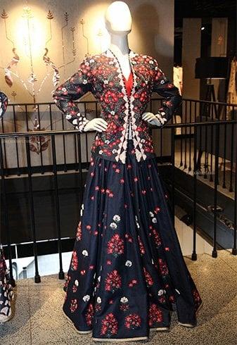 Ankur Modi and Priyanka Modi Dresses