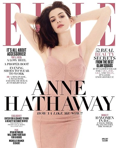 Anne Hathaway for Elle US