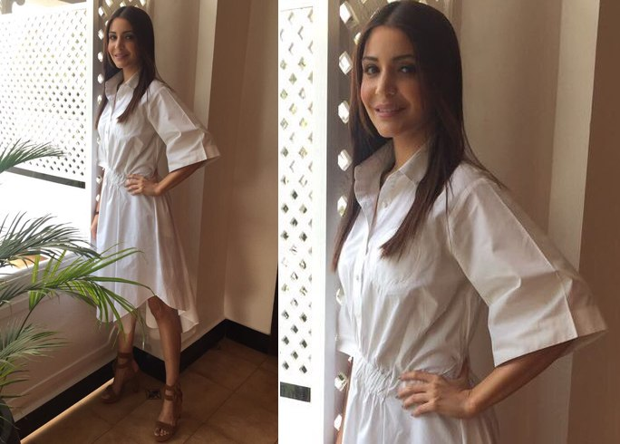 Anushka Sharma In Love Birds Designs