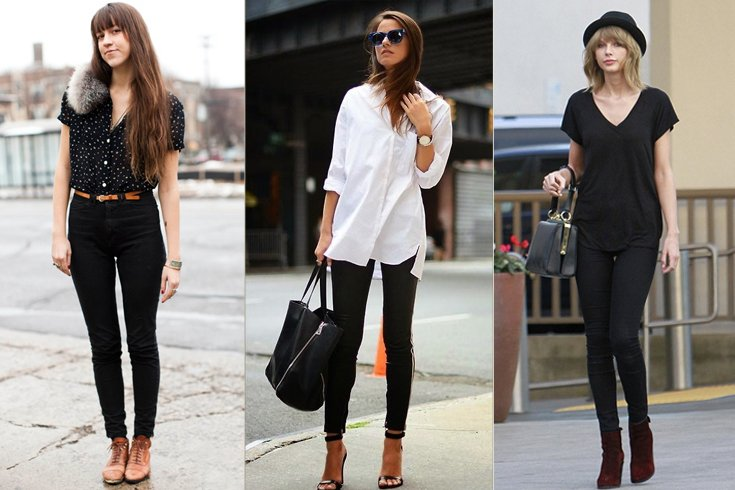 How to Style Black Leggings