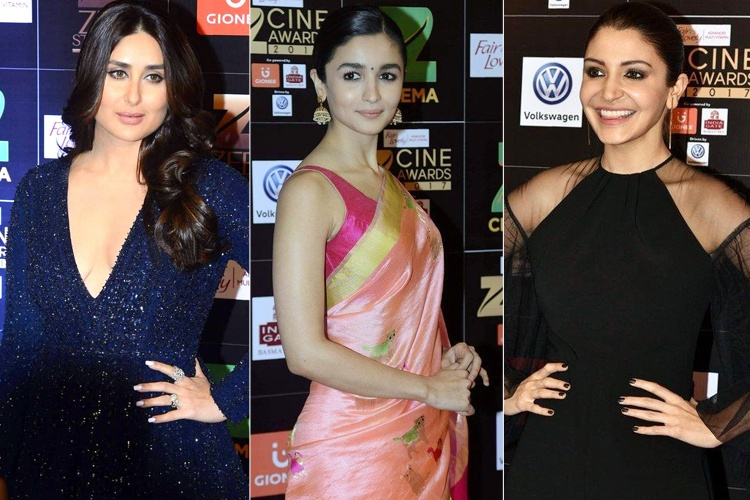 Bollywood Ladies at Zee Cine Awards
