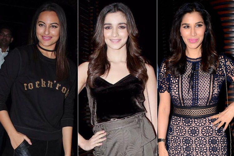 Celebrites at Badrinath Ki Dulhania Success Party