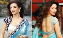Embellished Saree Blouse Designs