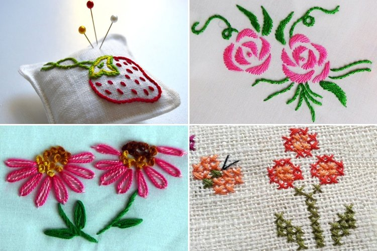 15 Hand Embroidery Stitches For Beginners Learn Step By Step