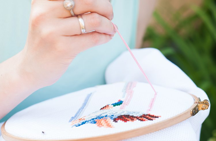 Easy Hand Embroidery Stitches