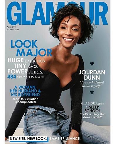 Jourdan Dunn for Glamour UK