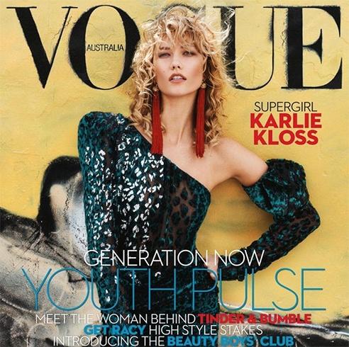Karlie Kloss for Vogue Australia