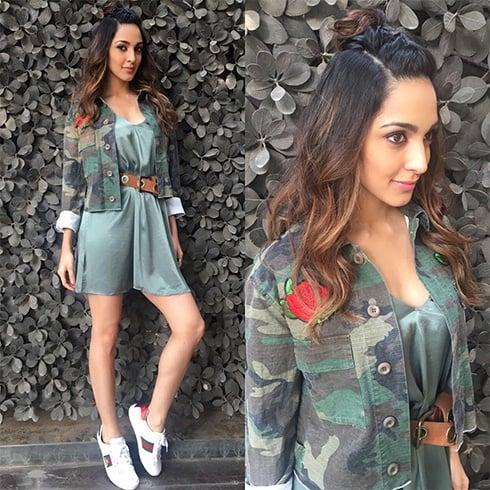 Kiara Advani Jacket Style