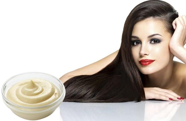 mayonnaise for hair