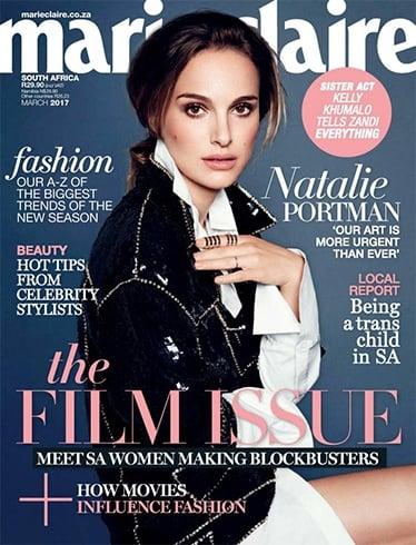 Natalie Portman on Marie Claire