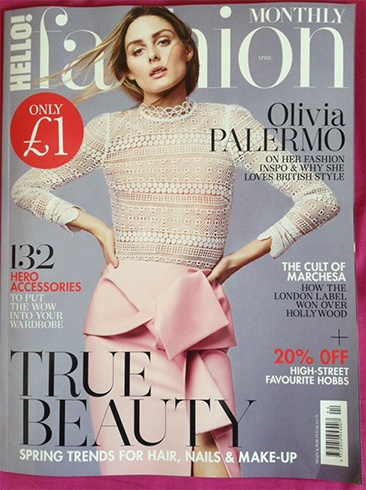 Olivia Palermo for Hello Fashion Monthly