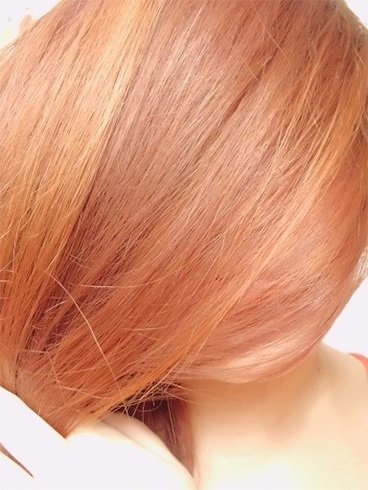 Strawberry Blonde Hair Color in Pastel