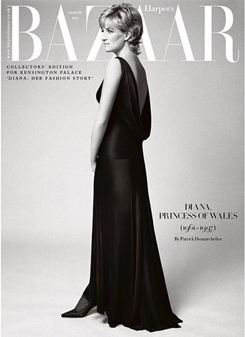 Princess Diana on Harpers Bazaar uk