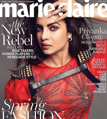 Priyanka Chopra for Marie Claire
