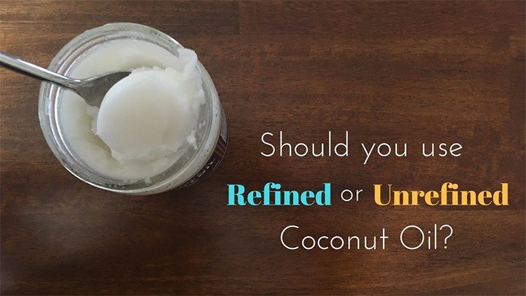 Refined and Unrefined Coconut Oil