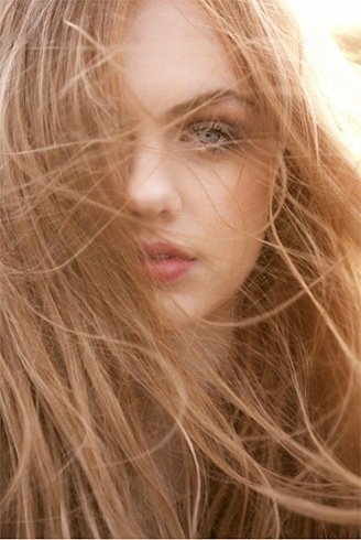 Soft and smoothe Strawberry Blonde Hair Color