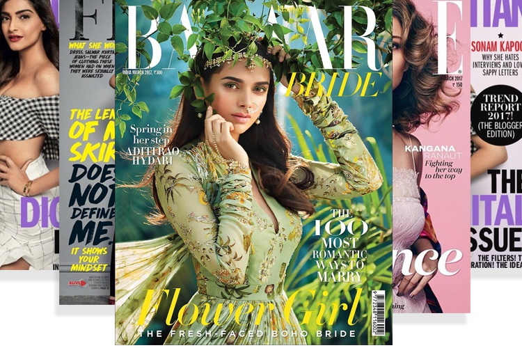 Spring Bollywood Magazine Covers