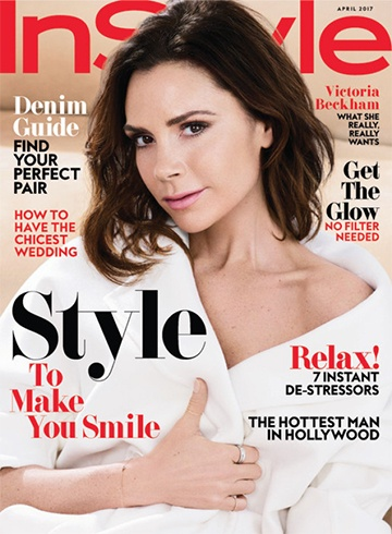 Victoria Beckham for InStyle US
