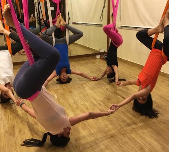 Anshuka Parwani Yoga Class