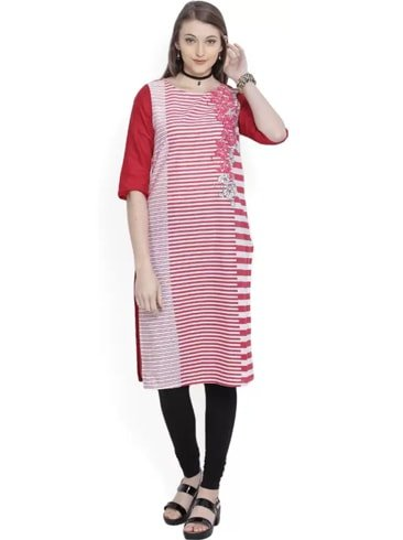 Aurelia Womens Straight Kurta