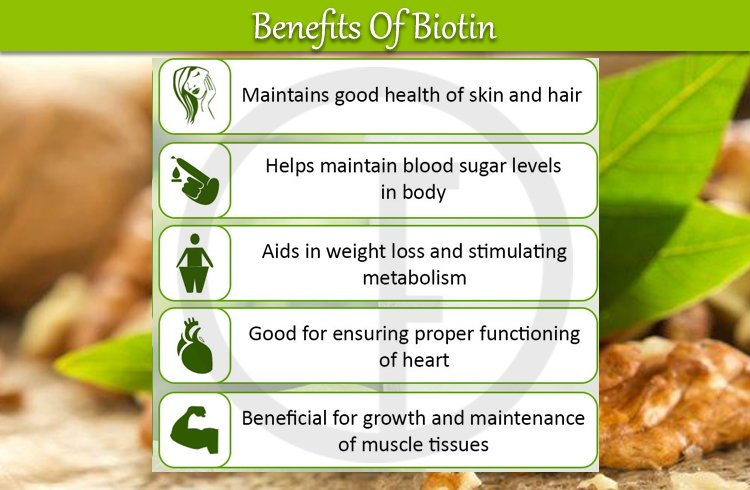 Benefits Of Biotin for hair health and skin