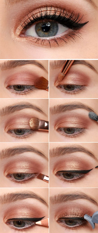 Cat Eye Copper Eyes