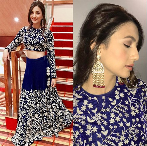 Gauhar Khan fashion