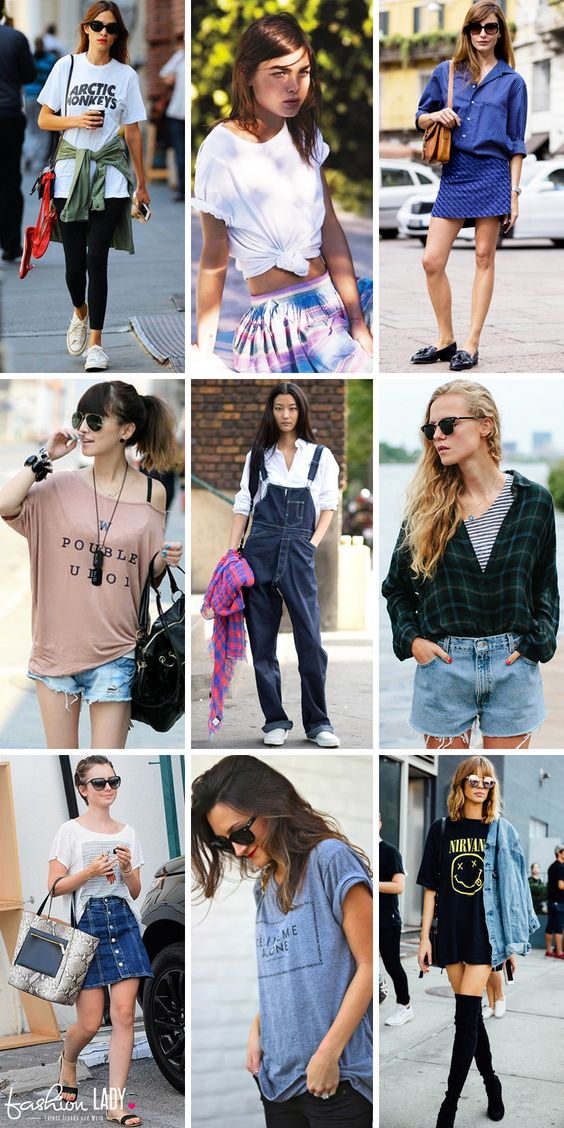 1de2c784903 Hot And Spicy Ways On How To Wear Oversized Shirts And Oversized T ...