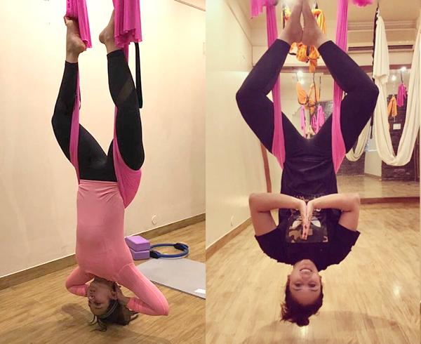 Huma Qureshi Yoga