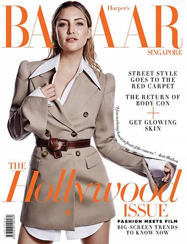 Kate Hudson for Harpers Bazaar Singapore
