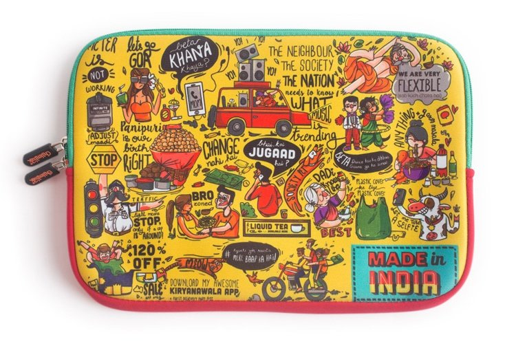 Made In India Laptop Sleeve