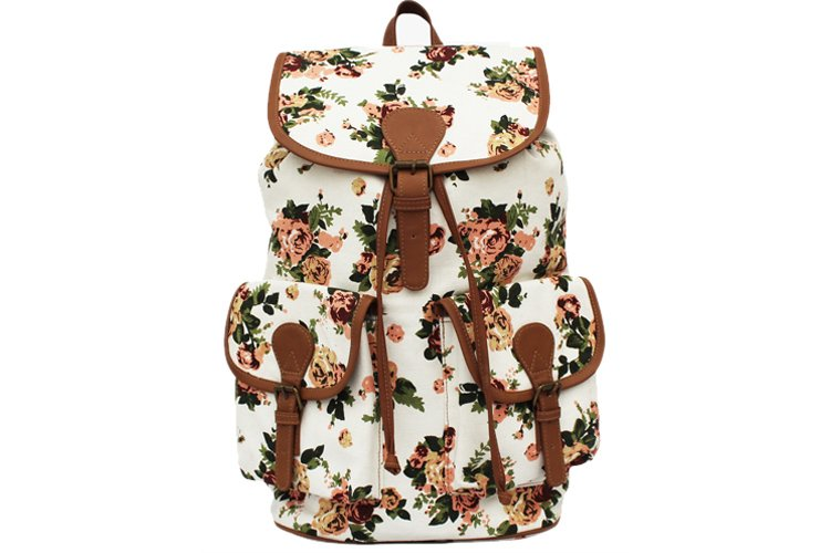 Moac Multicoloured Canvas Backpack