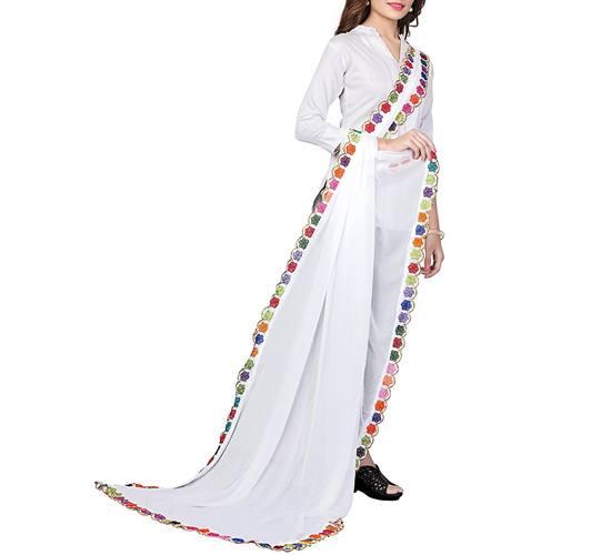 RangReza Embroidery Dupatta for Women Dupattas