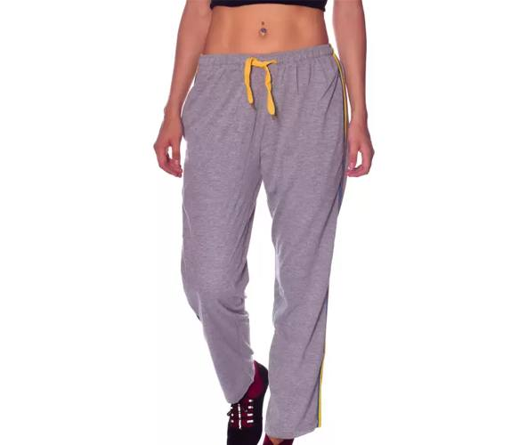 Shaun Solid Women's Grey Track Pants