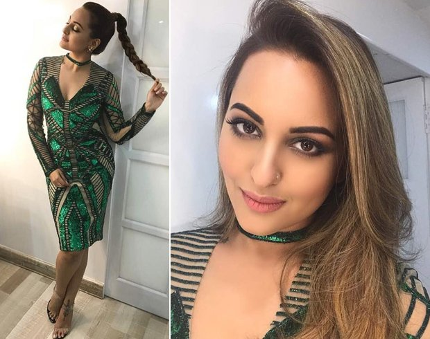 Sonakshi Sinha in Falguni and Shane Peacock