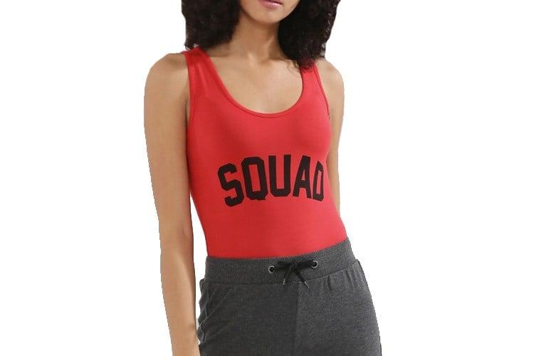 Squad Print Bodysuit
