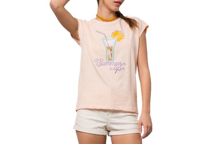 Summer Up Drop Shoulder T-Shirt